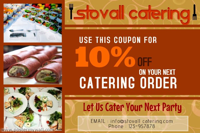 Catering Flyer Template Free New Catering Business Flyer Template