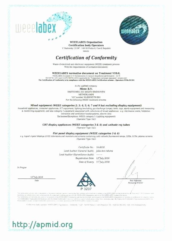 Certificate Of Destruction Template Fresh Certificate Of Data Destruction Template – Obconline