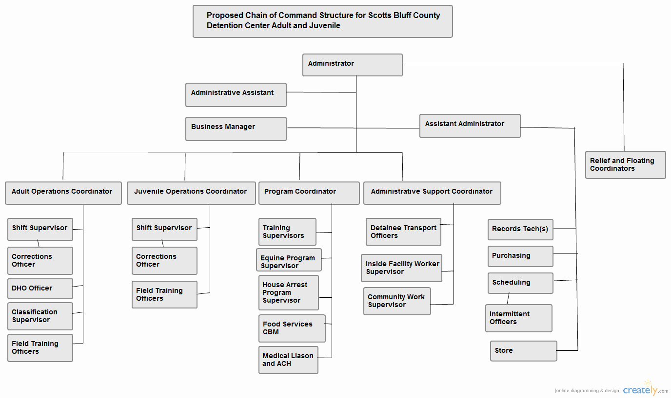 Chain Of Command Template Best Of Chain Of Mand organizational Chart