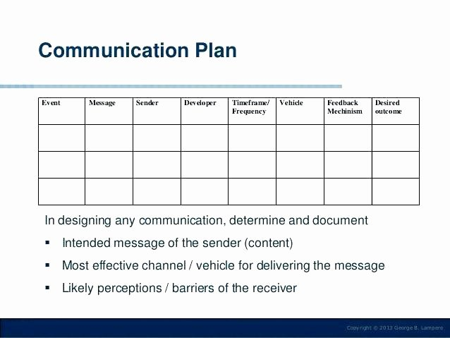 Change Management Communication Plan Template Elegant Change Management 9 Munication Strategy Template Strand