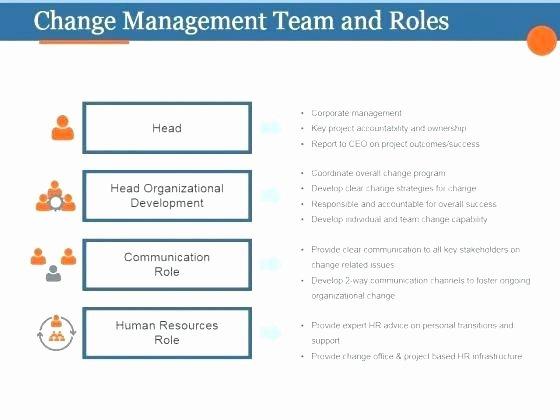 Change Management Communication Plan Template Inspirational organizational Change Management Template Change