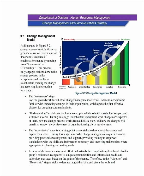 Change Management Communication Plan Template Unique Change Management Munication Strategy Template Science