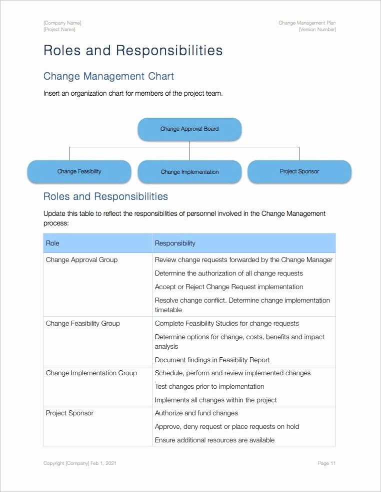 Change Management Plan Template Awesome Change Management Plan Template Apple Iwork Pages