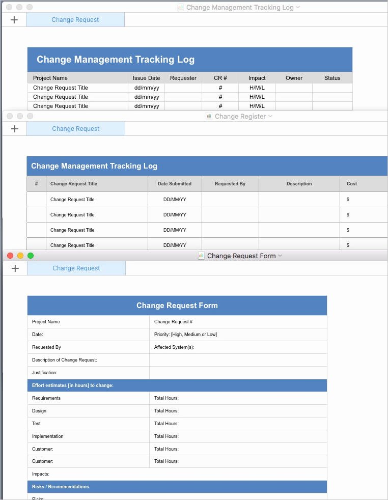 Change Management Plan Template Best Of Change Management Plan Template Apple Iwork Pages