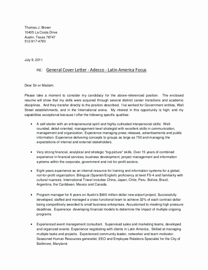Change Of Management Letter Template Inspirational Change Management Cover Letter Change Control Manager