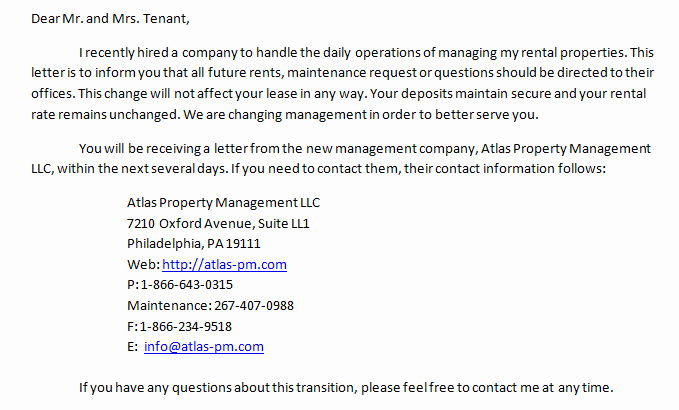 Change Of Management Letter Template Unique Get Started