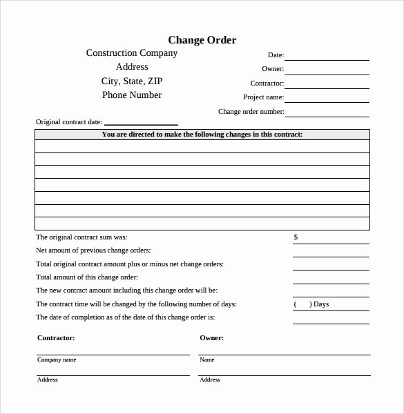 Change order Template for Construction Beautiful Inspirational Naf to Gs Equivalent Chart