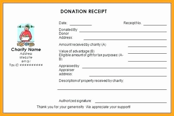 Charitable Contribution Receipt Template Lovely Receipt Wording Charitable Contribution Receipt Charitable