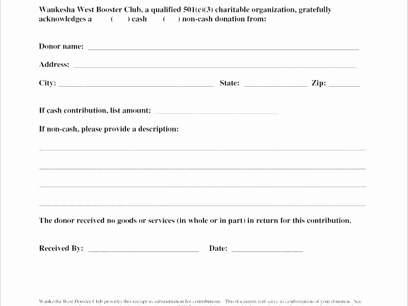 Charitable Contribution Receipt Template Luxury Thank You Letter for Donation Money Charity Template