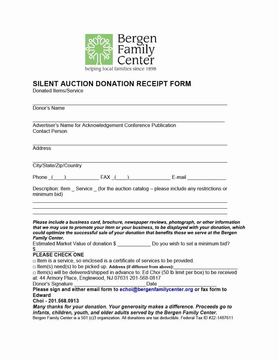 Charitable Donation Letter Template Elegant Donation Receipt Letter Template
