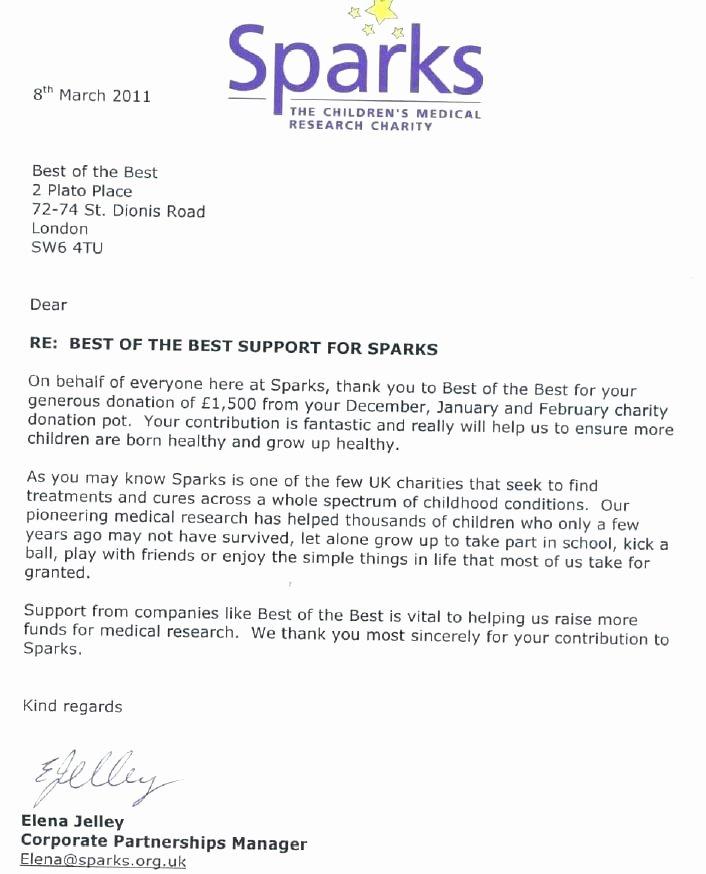 Charitable Donation Letter Template Inspirational Charitable Contribution Letter Template – Bbfinancialsfo