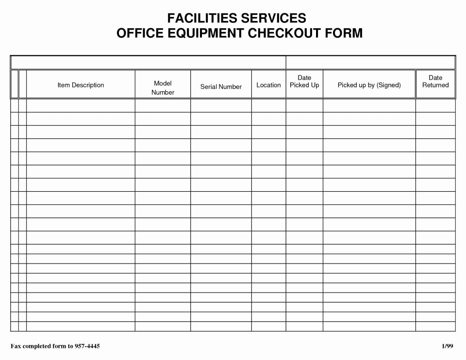 Check In Sheet Template Awesome Sheet Inventory Sign Out Template Free Download In Sample