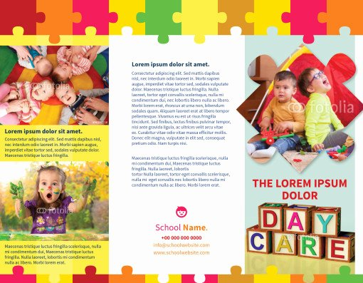 Child Care Flyer Template Best Of Childcare Brochures Child Care Brochures Childcare