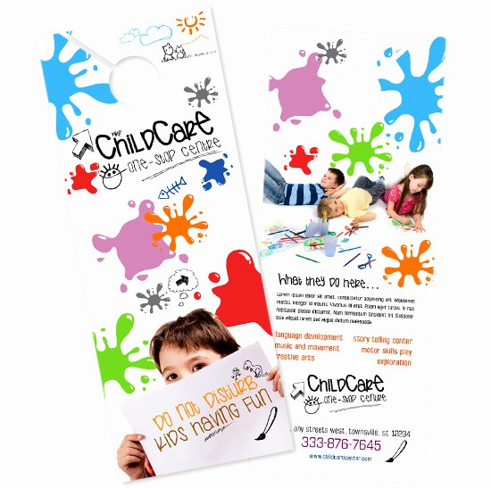 Child Care Flyer Template Elegant Child Care Brochure Templates Daycare Flyer Child Care