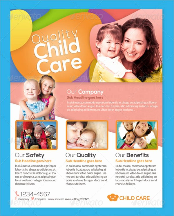 Child Care Flyer Template New 15 Day Care Flyers