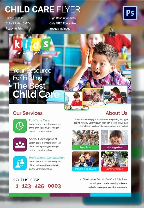 Child Care Flyer Template New Download by Template Specialization Requires