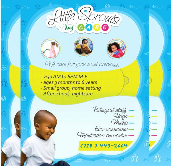 Child Care Flyer Template Unique 19 Beautiful Day Care Flyer Templates Psd Word Ai