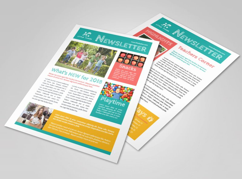Child Care Newsletter Template Fresh Child Care Newsletter Templates