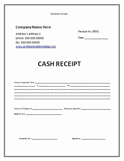 Child Care Receipts Template New Receipt Template Free