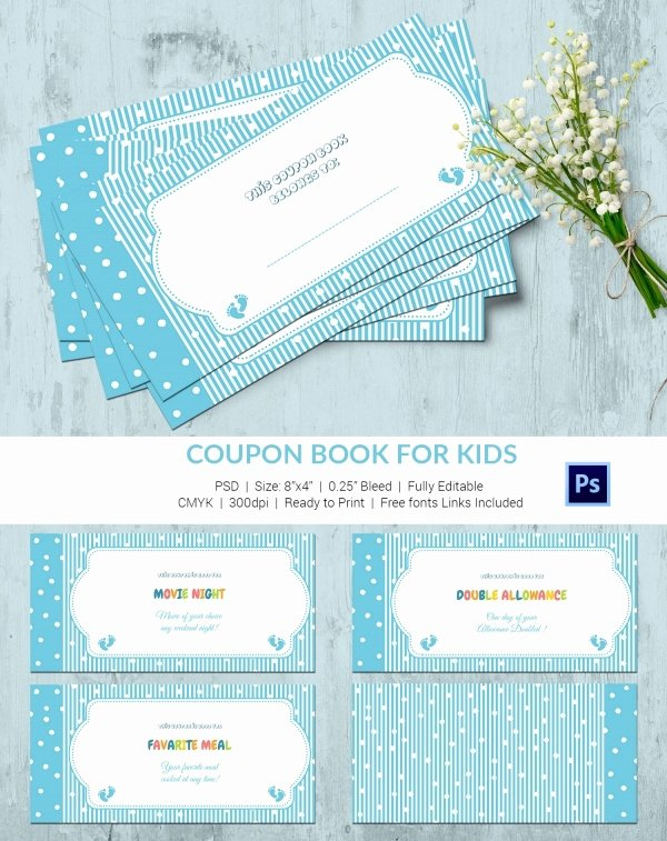 Children Book Layout Template Best Of 45 Coupon Book Templates Free Psd Ai Vector Eps