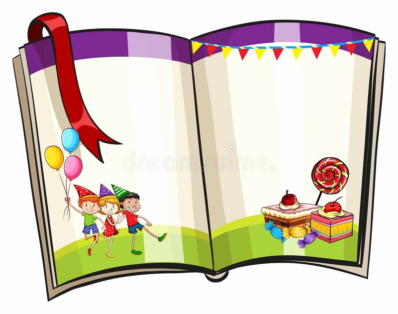 Children Book Layout Template Elegant Frame Stock Vector Image Of Board Illustration Blank