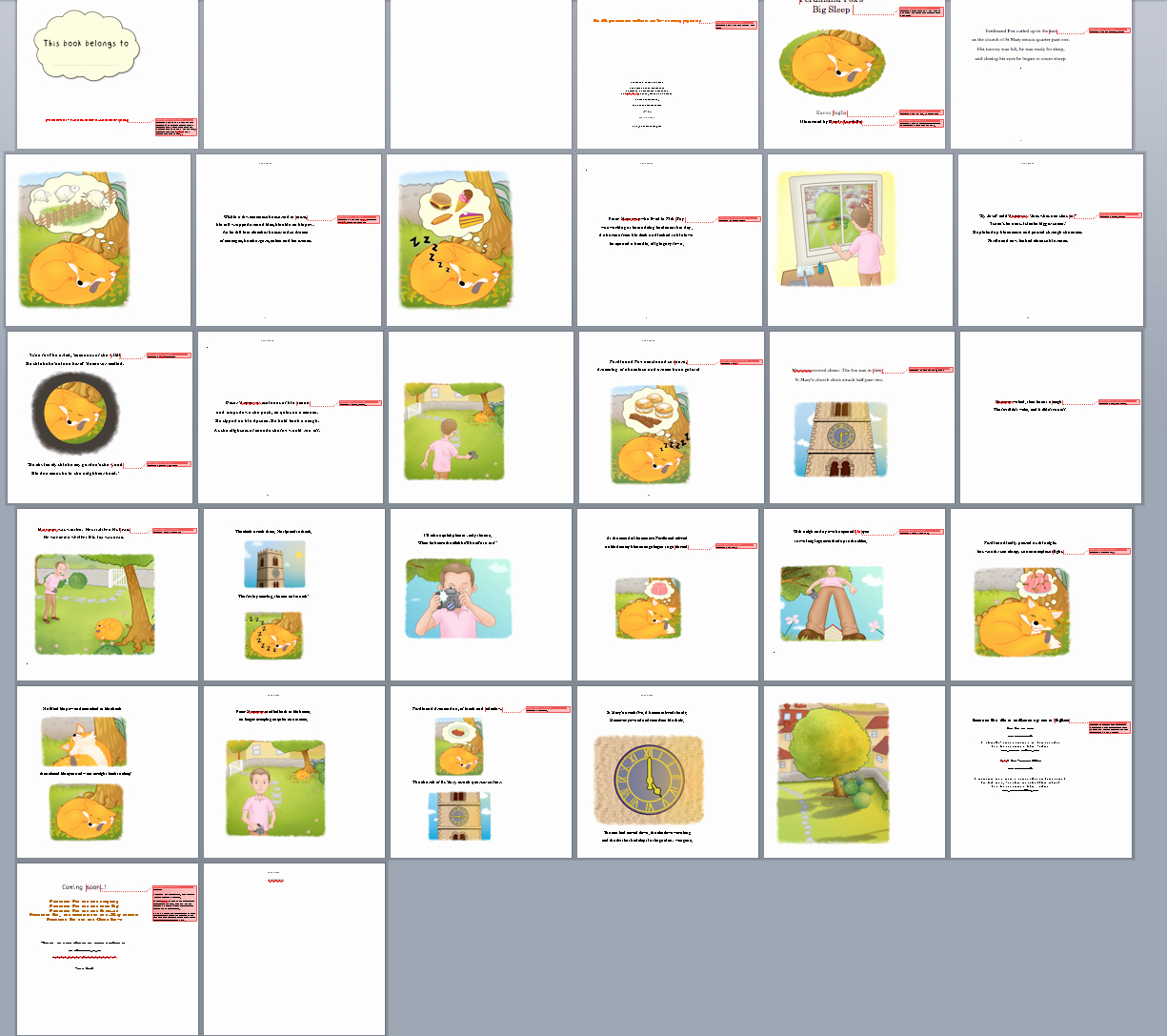Children Book Layout Template Fresh Self Publishing A Picture Book