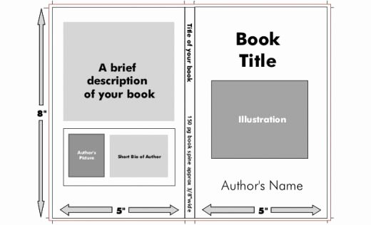 Children Book Layout Template Unique 18 Book Jacket Template Templates Book Covers
