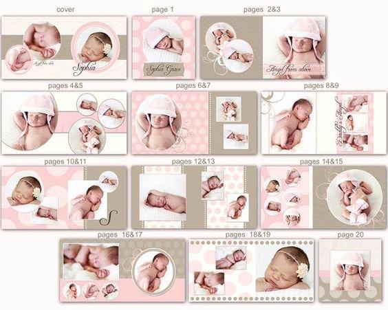 Children Book Layout Template Unique Instant Download 10x10 Baby Album Template sophia