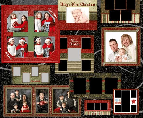 Christmas Card Template Photoshop Awesome 30 Free Psd Christmas Card Templates Designmaz