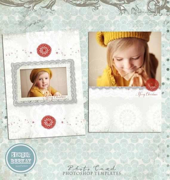 Christmas Card Template Photoshop Awesome Items Similar to Shop Christmas Card Template for