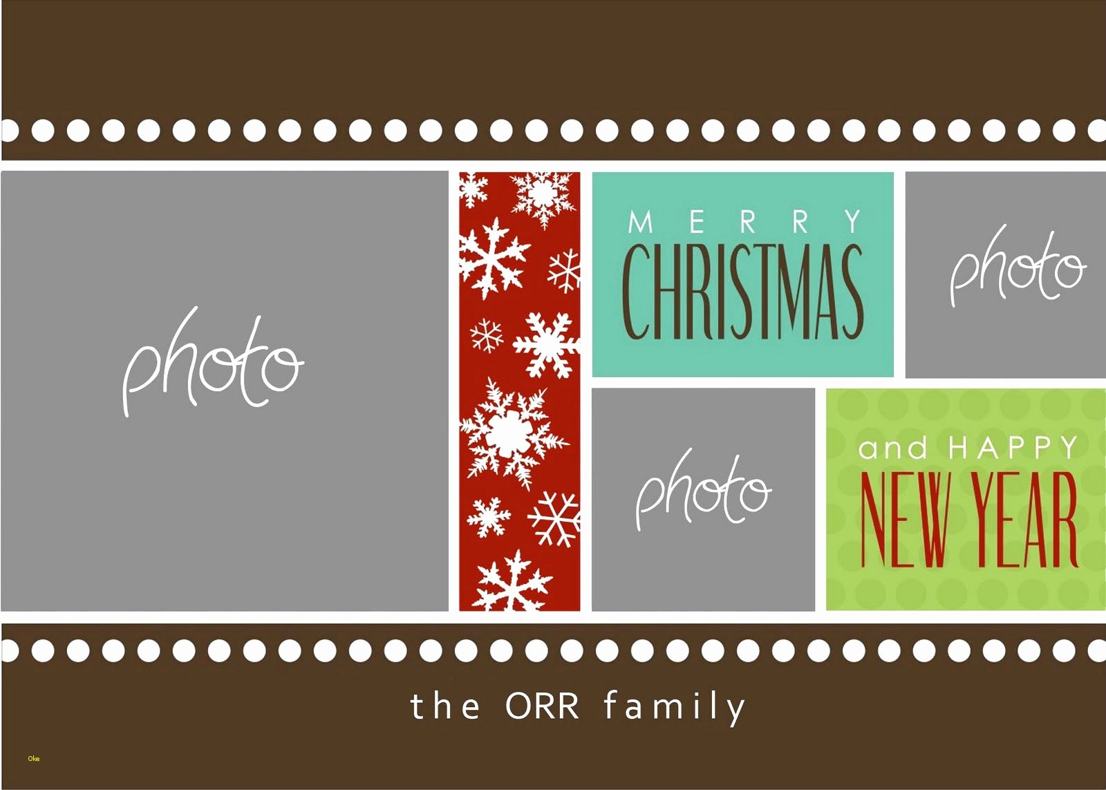 Christmas Card Template Photoshop Awesome New Christmas Card Templates for Shop