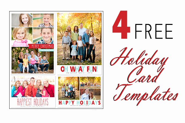 Christmas Card Template Photoshop Beautiful 17 Holiday Card Shop Templates Free Free