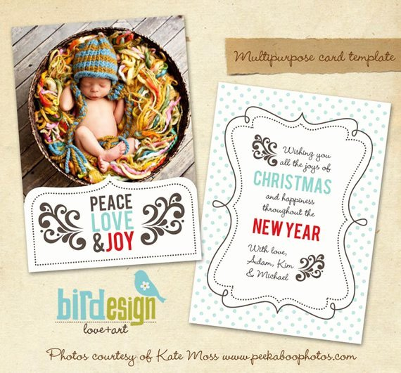 Christmas Card Template Photoshop Beautiful Items Similar to Instant Download Shop Christmas