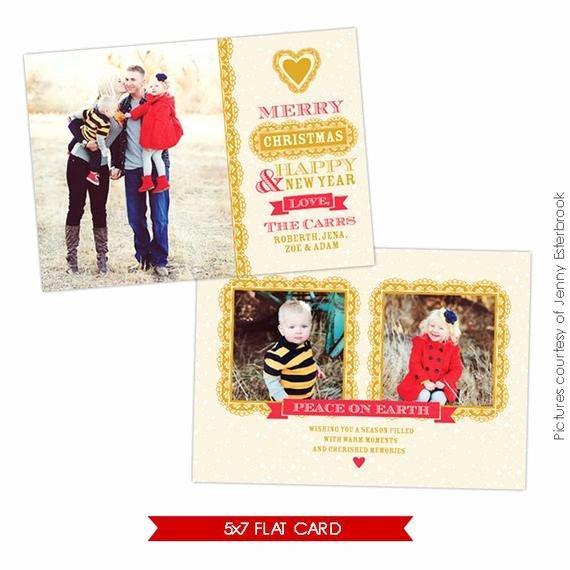 Christmas Card Template Photoshop Beautiful Psd Christmas Card Shop Template Chic Style E626