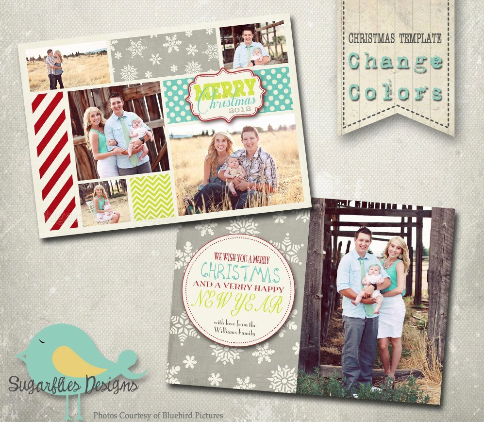 Christmas Card Template Photoshop Best Of Christmas Card Template Photoshop Template Family Christmas