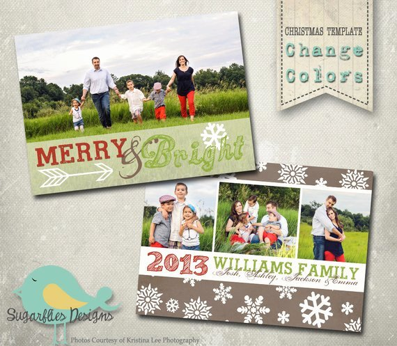 Christmas Card Template Photoshop Lovely Christmas Card Photoshop Template Family Christmas Card 87