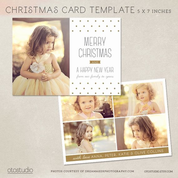 Christmas Card Template Photoshop Lovely Digital Shop Christmas Card Template for Photographers