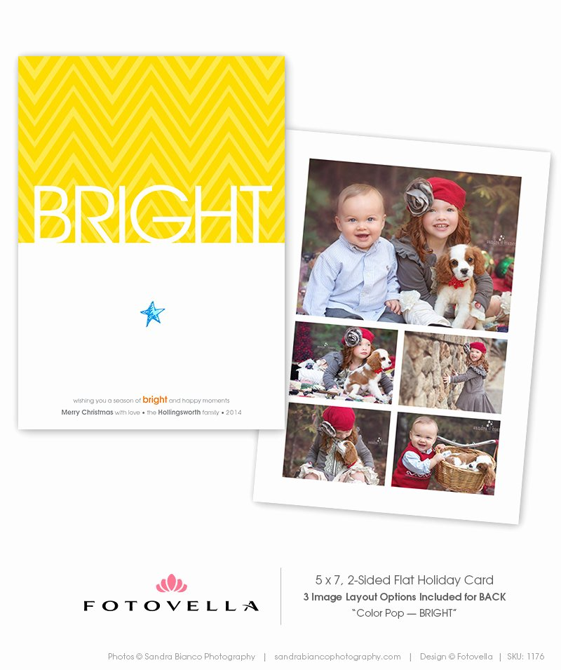 Christmas Card Template Photoshop Lovely Minimalist Christmas Card Shop Template 5x7 1176
