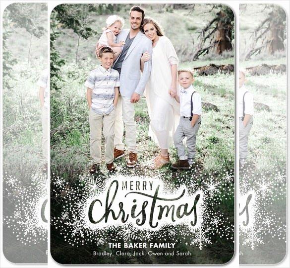 Christmas Card Template Photoshop Luxury 150 Christmas Card Templates – Free Psd Eps Vector Ai