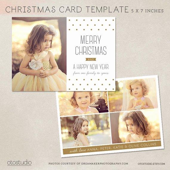 Christmas Card Template Photoshop New Digital Shop Christmas Card Template for Photographers