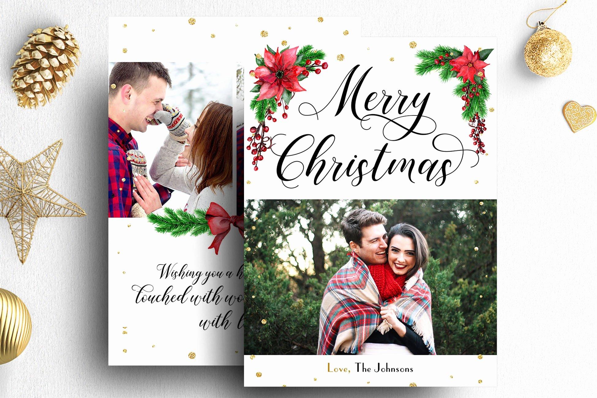 Christmas Card Template Photoshop Unique Christmas Card Shop Template Card Templates