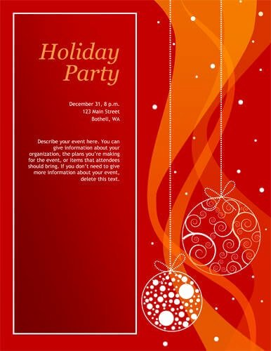Christmas Party Invite Template Awesome 14 Free Diy Printable Christmas Invitations Templates