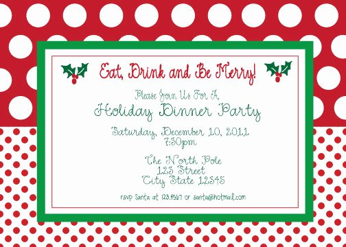 Christmas Party Invite Template Elegant Christmas Party Invites Template