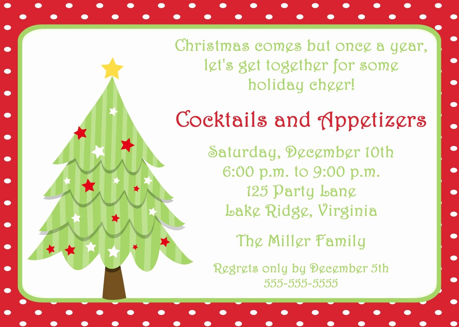Christmas Party Invite Template Elegant Free Invitations Templates Free