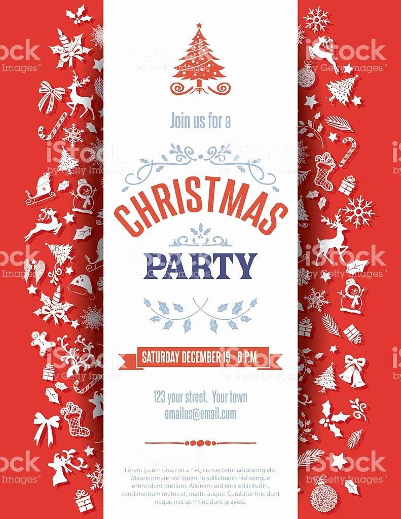 Christmas Party Invite Template Luxury Christmas Party Invitation Template Christmas Party