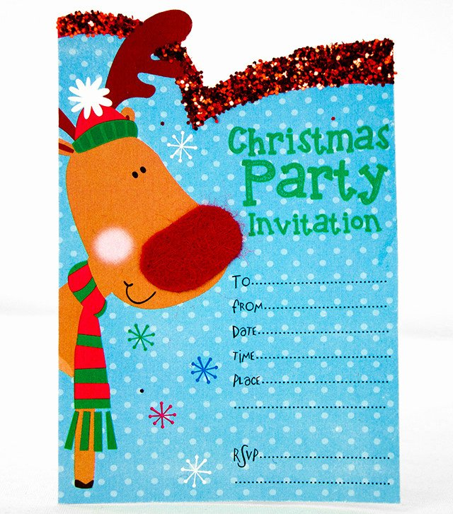 Christmas Party Invite Template Luxury Free Printable Christmas Invitation Templates