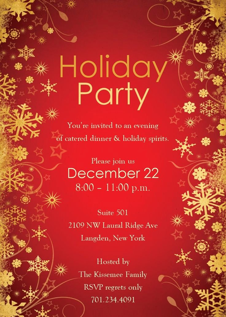 Christmas Party Invite Template Unique Best 25 Party Invitation Templates Ideas On Pinterest