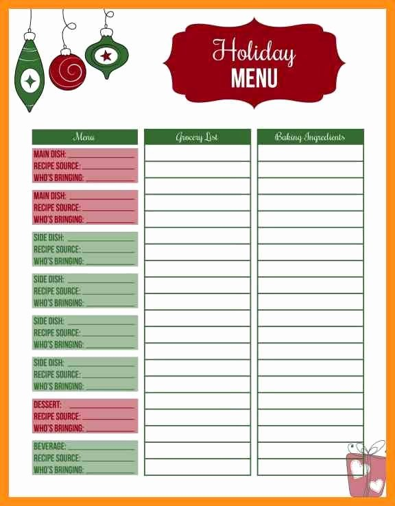 Christmas Potluck Signup Sheet Template Inspirational Christmas Potluck Signup Sheet