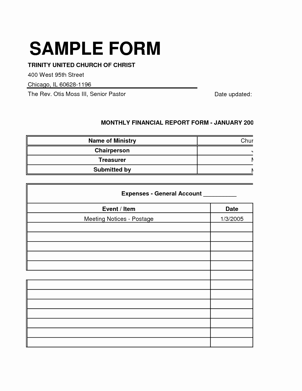 Church Financial Report Template Fresh 14 Best Of Basic Bud Worksheet for Churches