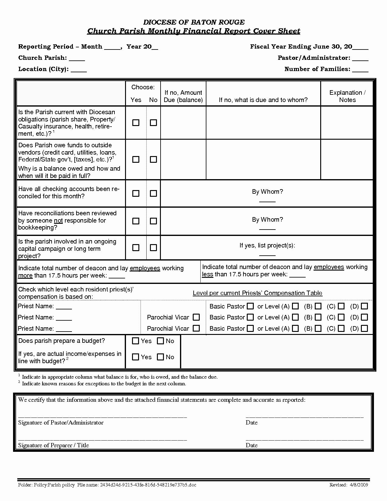 Church Financial Statements Template Awesome Finance Report Template Portablegasgrillweber